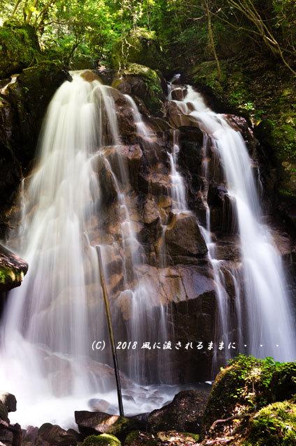 滋賀・鶏鳴の滝2