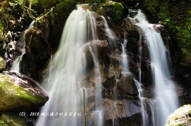 滋賀・鶏鳴の滝3