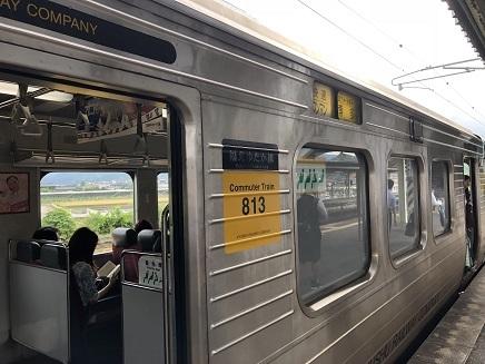 6082018 帰路桂川駅➡博多S2