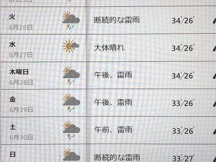 6232018 台北天気予報S