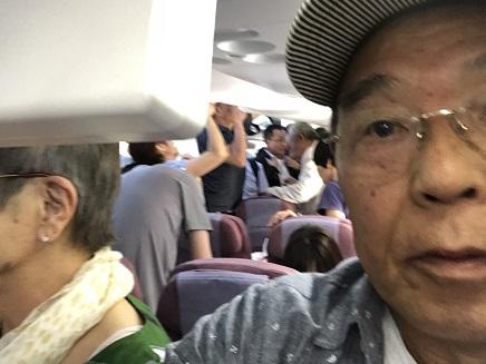 6262018 中華航空機内台北到着S4