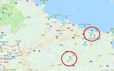 627~6282018 台北&九份&十分地区MapS