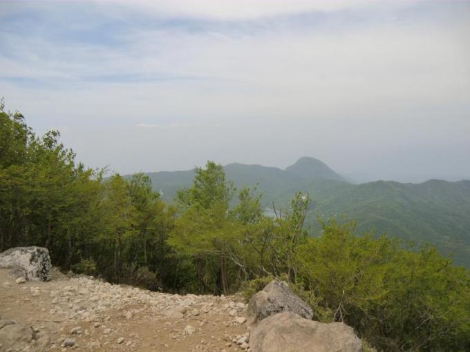 展望地から鈴ヶ岳