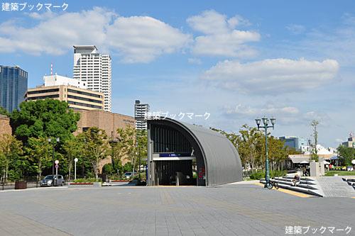 京阪電鉄なにわ橋駅地上出入口
