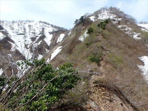 4.29 湯ノ沢岳~母狩山 040_R