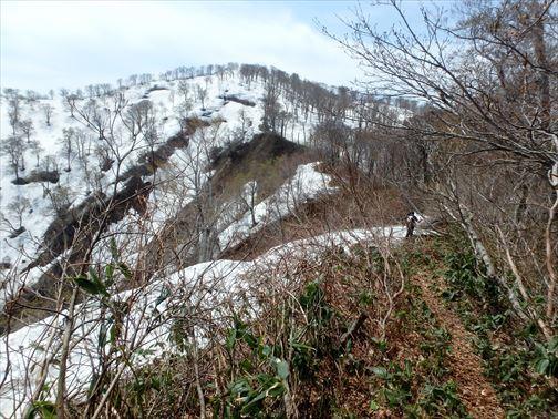 4.29 湯ノ沢岳~母狩山 044_R