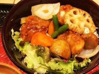 大戸屋黒酢鶏