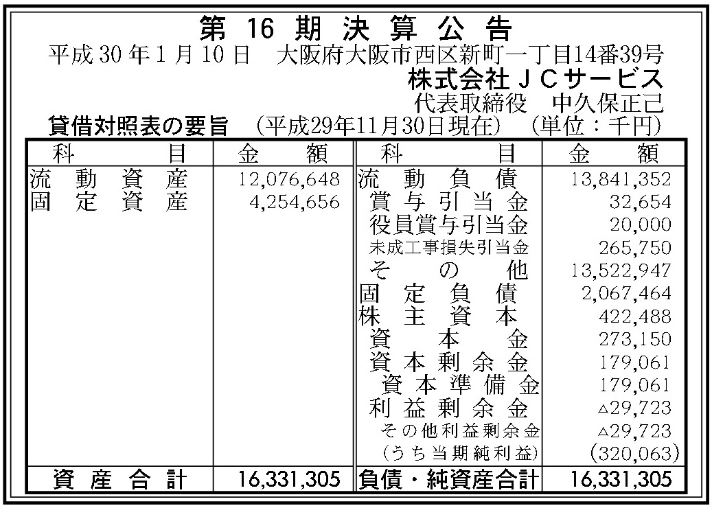 JCサービス決算公告20180213-57
