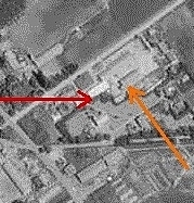 空中写真 1971年 家畜保健衛生所周辺 拡大