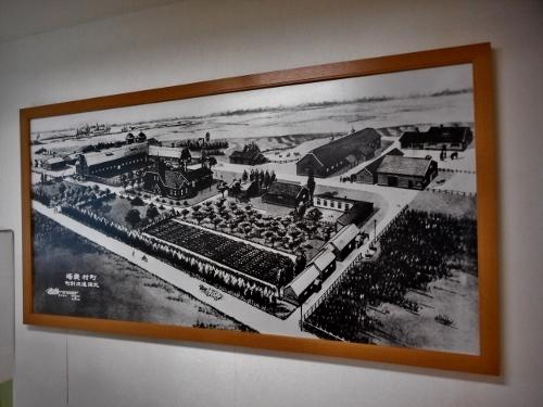 旧町村農場 展示 俯瞰絵図