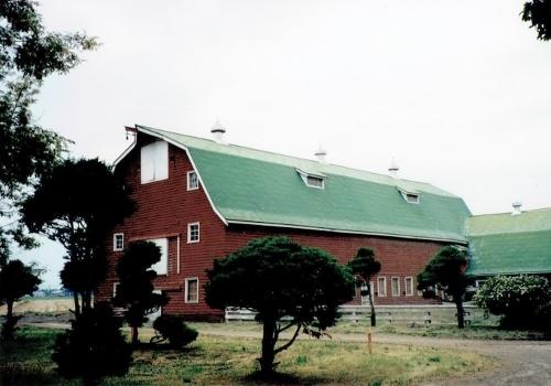 江別 旧町村農場 牛舎 1993年