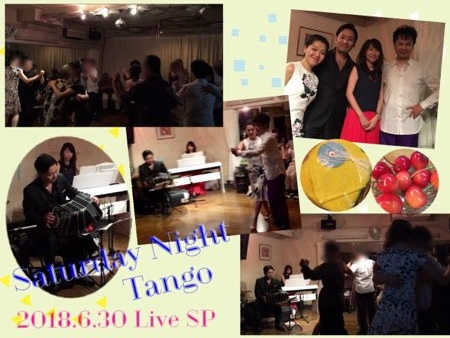 2018.6.30 Saturday Night Tango