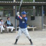 5回裏、宮崎が押し出し四球を選ぶ