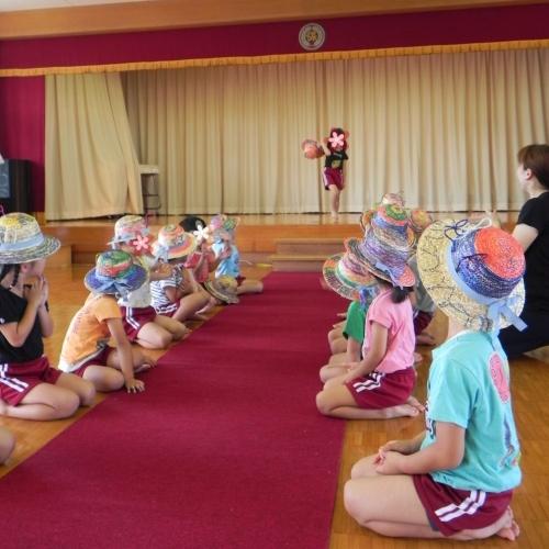 子どものびびび@麦わら帽子できらきらファッションショー