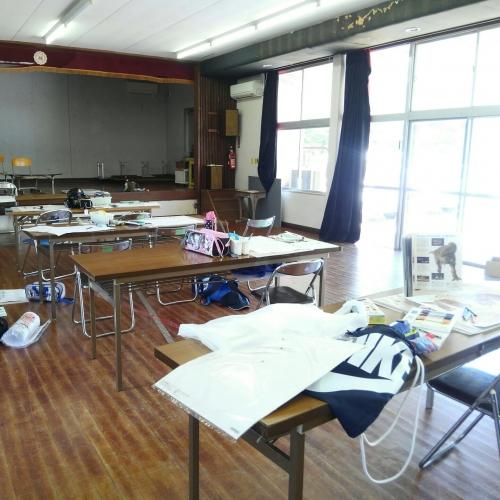 子どものびびび@出張!どこでも美術教室in西庄コミュニティプラザ2018