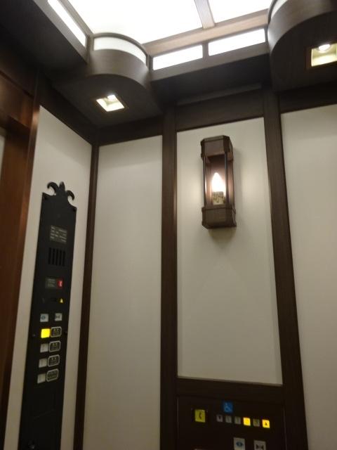 上高地帝国ホテル エレベーター