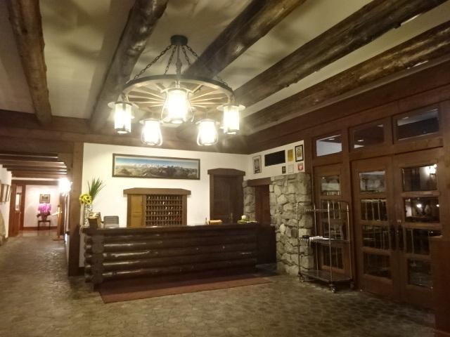 上高地帝国ホテル フロント