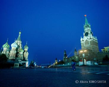 russia-3 モスクワ 赤の広場(C)Akira KINOSHITA