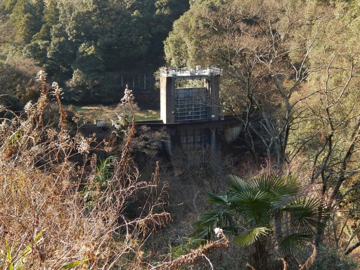 DSCN4339中山川逆調整池ダム