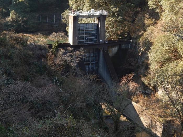 DSCN4341中山川逆調整池ダム