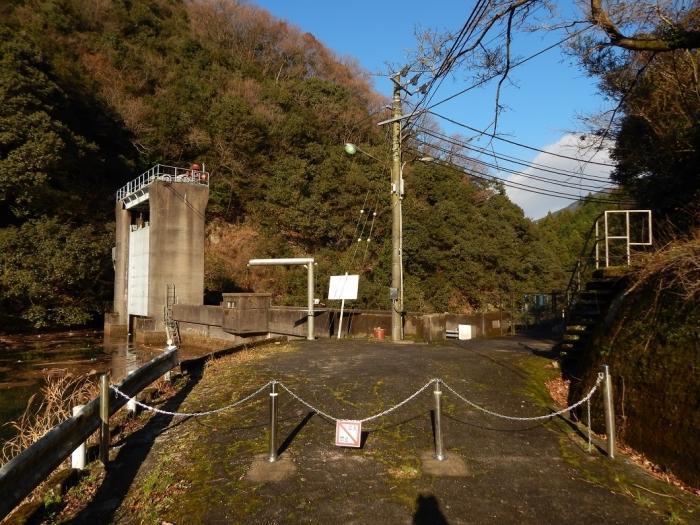DSCN4358中山川逆調整池ダム