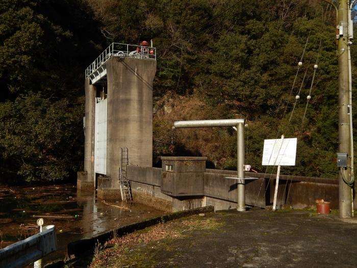 DSCN4363中山川逆調整池ダム