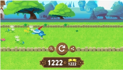 グーグルのガーデンノームのゲーム