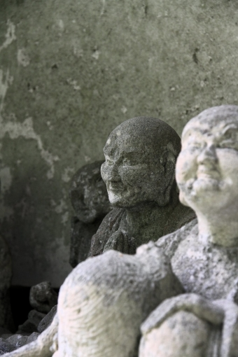 甘南備寺の羅漢さんたち