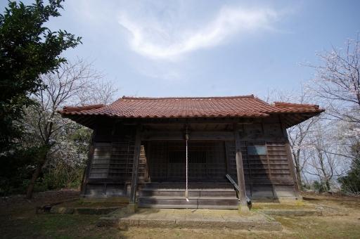 四王寺のお堂