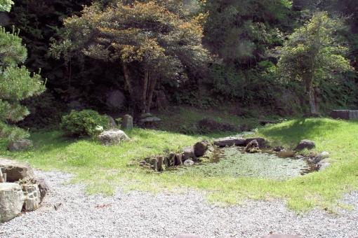 村上家のお庭
