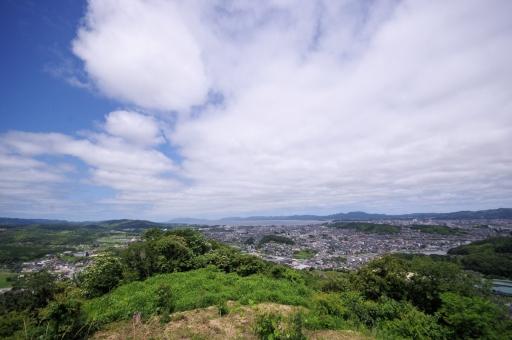 茶臼山からの風景