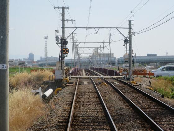 2015年阪堺電車で浜寺へ05