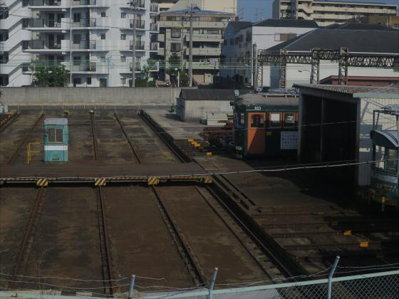 2015年阪堺電車で浜寺へ10
