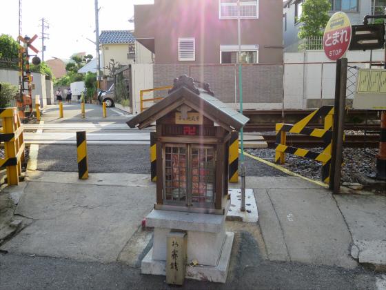 2015年阪堺電車で浜寺へ11