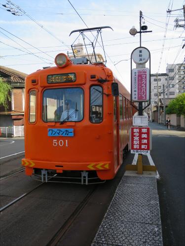 2015年阪堺電車で浜寺へ15