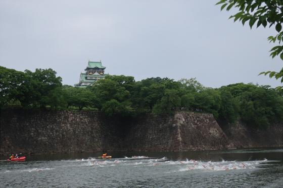 大阪城トライアスロン11