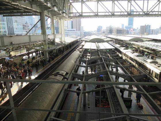 2014年頃の大阪駅など17
