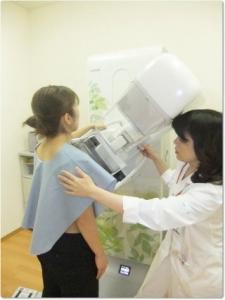 医師会病院マンモグラフィ