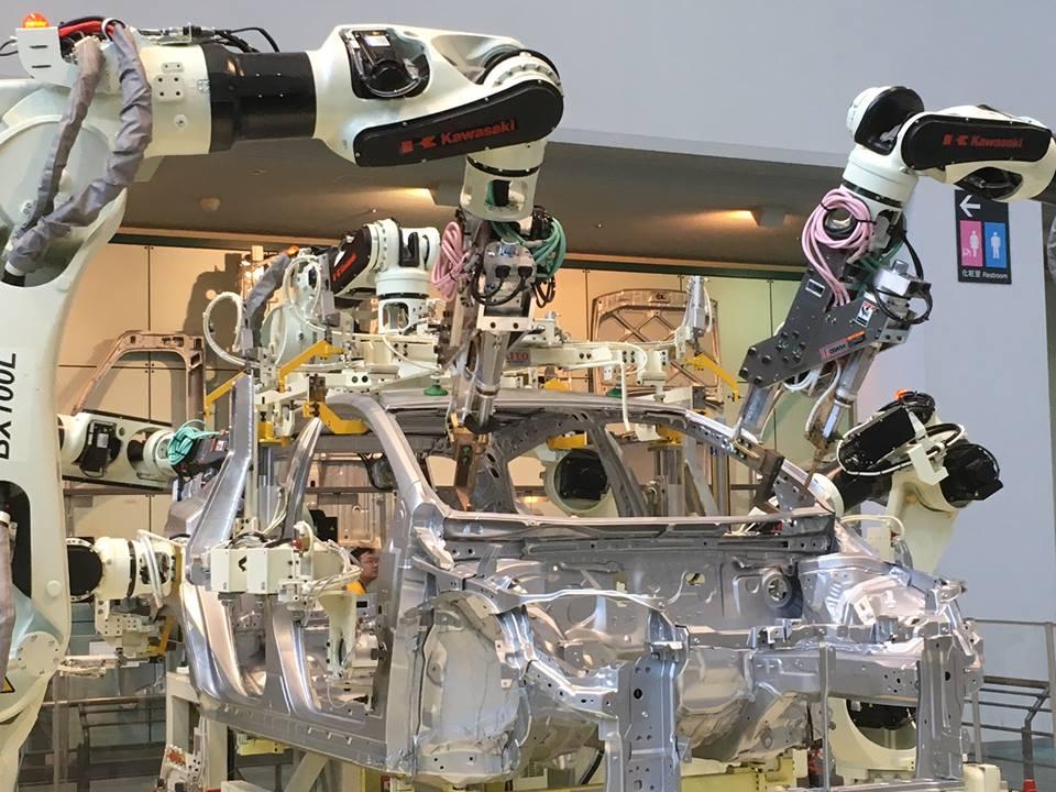 トヨタ-自動塗装ロボット