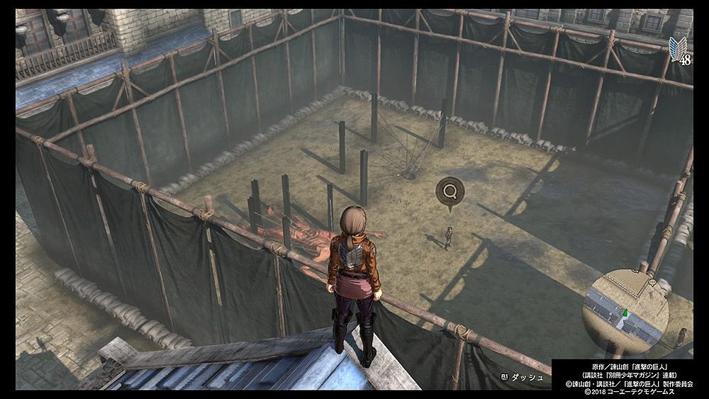 【進撃の巨人2】壁越え後のマップの仕様について