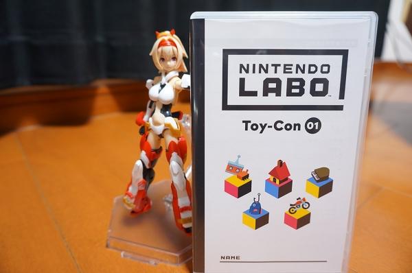 【NintendoLabo】開封とお試し制作
