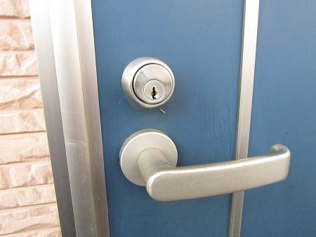 アパートの鍵交換_180730