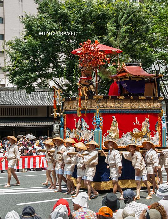 祇園祭り 保昌山