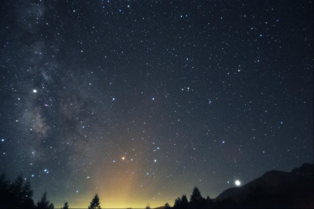 さそり座と木星_20180714E_999002x4