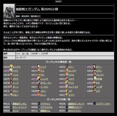 ガンダムMOD大図鑑β版090