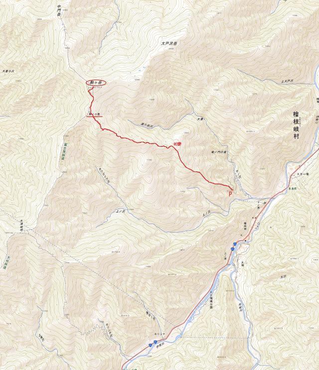 会津駒地図
