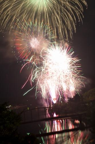 2018年 亀山湖花火大会