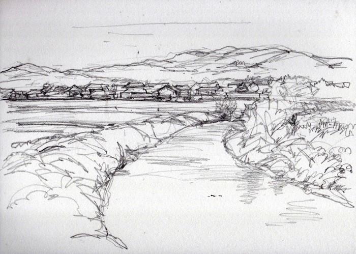 河原林町にて デッサン (700x499)