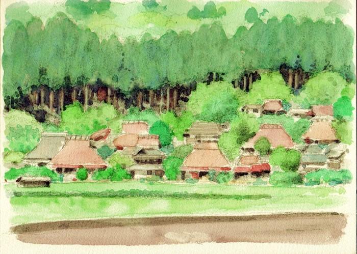 美山の遠景 (700x499)