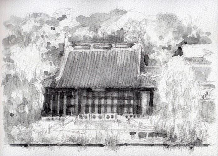 花博公園にて グリザイユ (700x500)